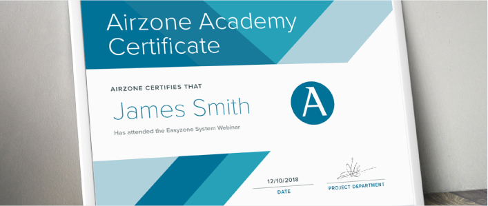 Airzone Academy. Certified results